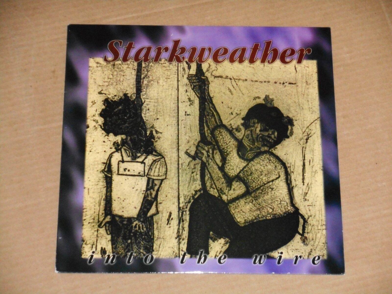 STARKWEATHER into the wire LP NEW edison 001 earth crisis dillinger escape plan