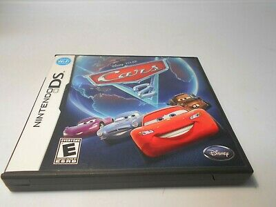 Cars 2: The Video Game (Nintendo ds) w/case & manual 3ds 2ds xl dsi lite game for sale  Shipping to India