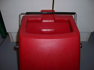 Carpet Express C-4a Parts 10604 10086 Waste Bucket Whandle Used