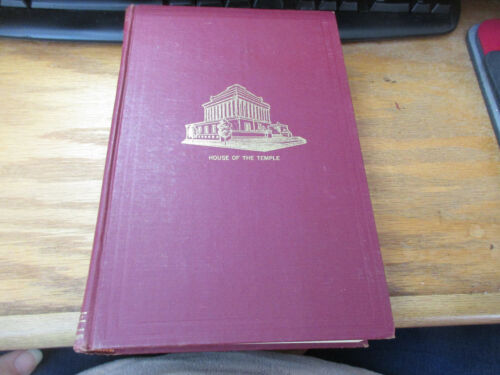 Morals and Dogma Ancient & Accepted Rite Southern Jurisdiction USA HC 1966 VGC