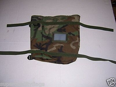 "NEW MOLLE II WOODLAND CAMO LARGE POUCH BELT BAG 12"" X 12"" usgi au"