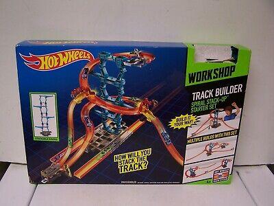 "Hot Wheels Track Builder Spiral Stack Up Builds Up To 30"" High unopened no car"