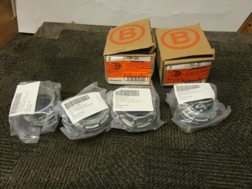 "BRIDGEPORT 156-DC 2"" THREADED HUB BOX CONNECTOR TYPE 4 (LOT OF 4)"