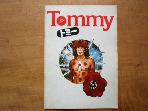 "Film ""Tommy The Movie"" Ken Russell Roger Daltrey Movie Program Japanese ver F/S"