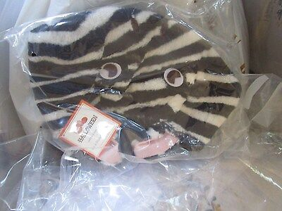 Pottery Barn Kids Halloween zebra treat bag  New with tags