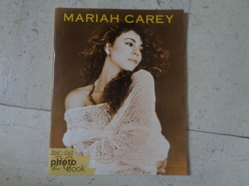 MARIAH CAREY *rare* exclusiv original glossy import photo book vintage 1996