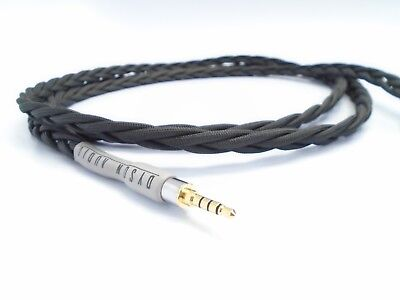 Dyson Audio Oppo PM-3 UPOCC Low Cap 4-pin XLR Balanced Headphone Cable 2 Meter, used for sale  Shipping to India