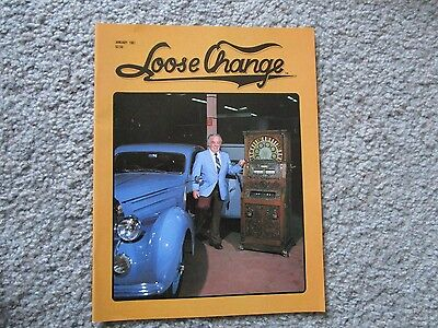 (Loose Change Magazine January 1981  Coin-Op Slot Machine Jukebox Etc)