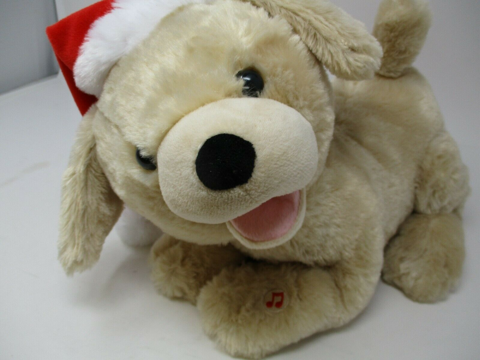 Sound N Light Animatronics Jingle Bells Farting Talking Animated Plush Lab Puppy