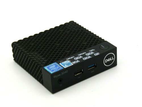 Dell Wyse 3040 Thin Client Mini PC ATOM x5 2GB RAM 8GB FLASH No AC Adapter