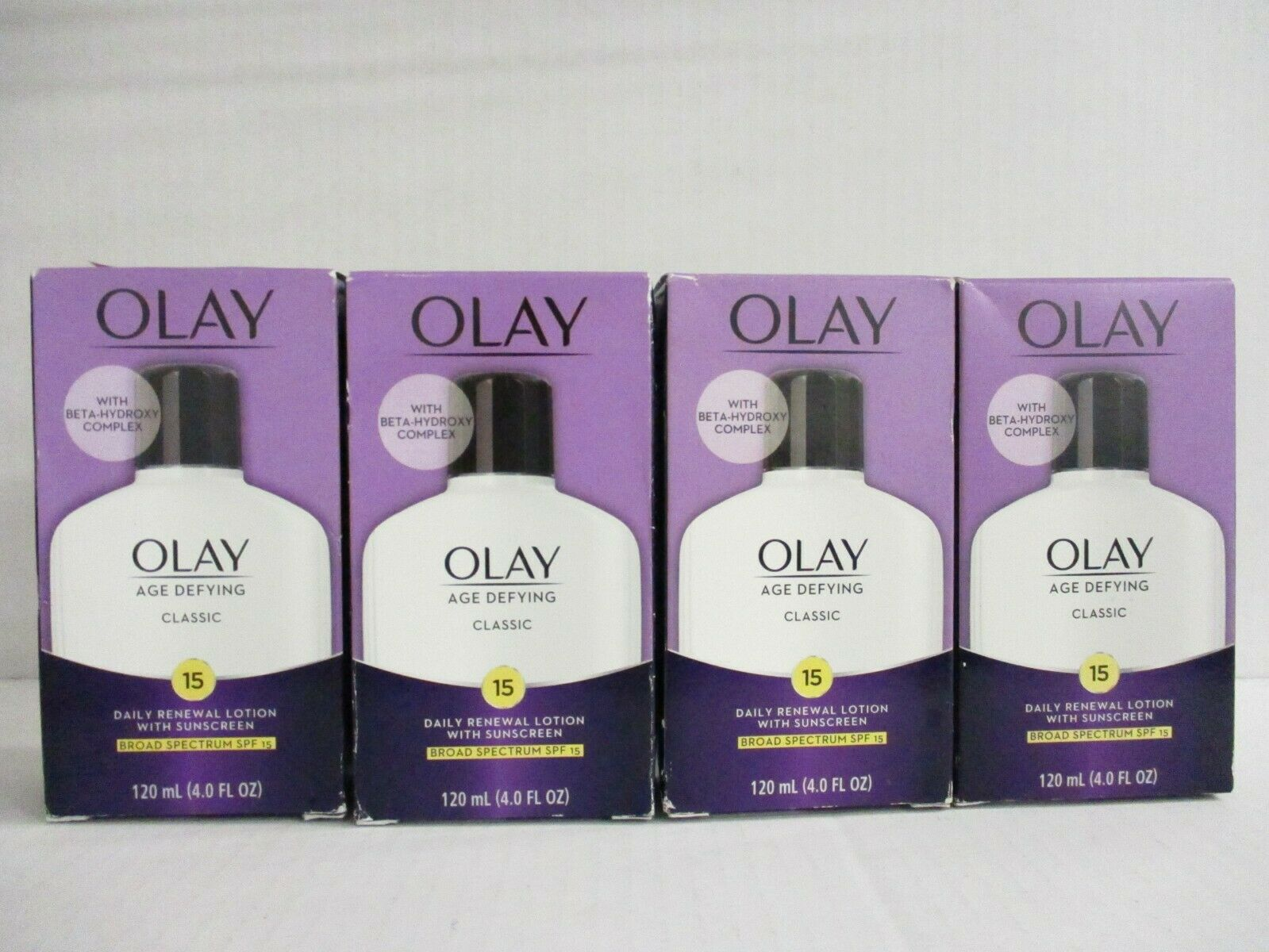 OLAY Age Defying Protective Renewal Lotion, With Sunscreen,