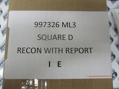 Square D 997326 Ml3 200 Amp 600 Volt Circuit Breaker Recon Wtest Report