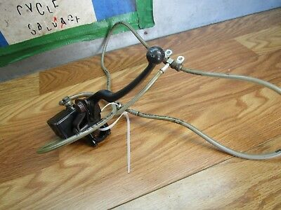 CANNONDALE 440 QUAD ATV 2003 FRONT BRAKE MASTER AND OIL LINES