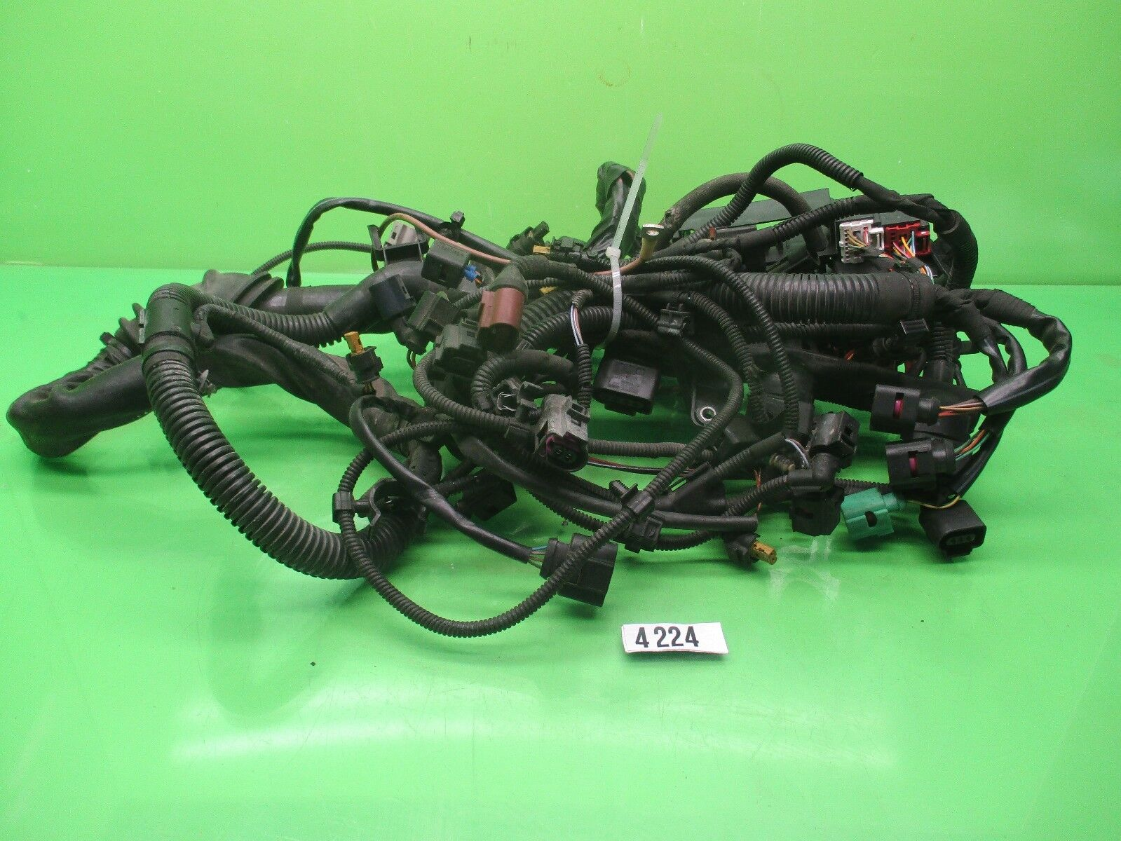 Used Audi Engines And Components For Sale Page 77 2009 A4 Fuse Box 20l Engine Wire Harness W Oem