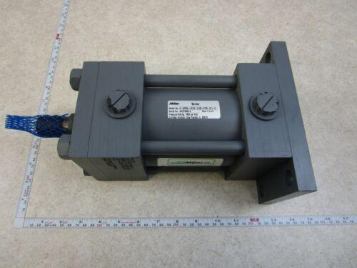 MILLER HYDRAULIC CYLINDER H-62R2N-03.25-2.500-0138-N11-0, 1850PSI, E0058