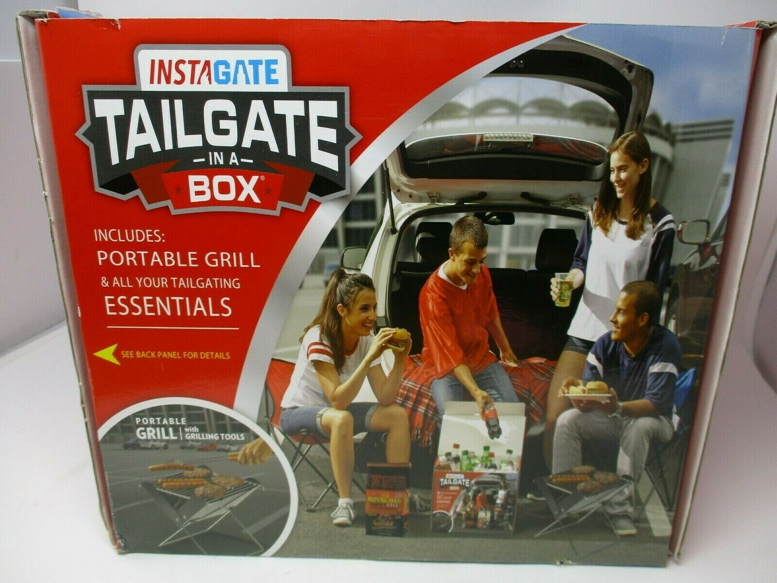 Instagate Tailgate In A Box Grilling Essentials New In Box