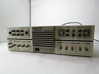 Audio Precision System One A Version Audio Analyzer T13-e11