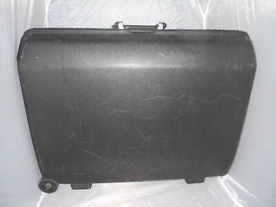 Samsonite black hard shell suitcase