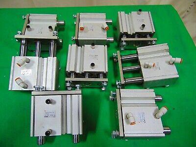 8 Pneumatic Air Smc Guided Slide Cylinder Ram Assemblies