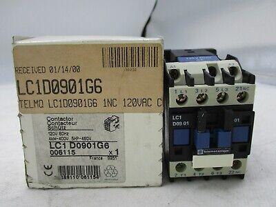 10 HP//480V Telemecanique LC1D1810G6 Contactor New 120 V Coil