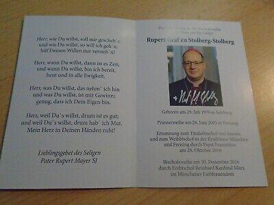 original Rupert Graf zu Stolberg -Stolberg - Kirche,Religion