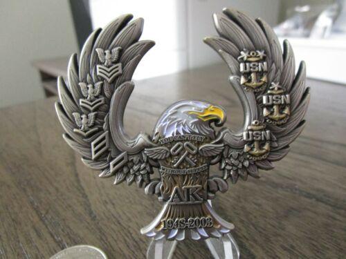 USN Aviation Storekeeper AK Navy Chief CPO Challenge Coin #3J