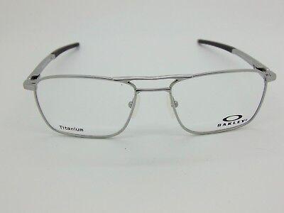 22e51167465 New OAKLEY GAUGE 5.2 TRUSS OX5127-0351 Satin Chrome Titanium 51mm Rx  Eyeglasses