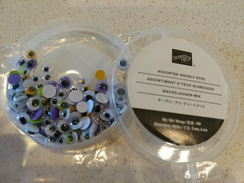 Stampin Up -Assorted Googly Eyes Embellishments - Halloween