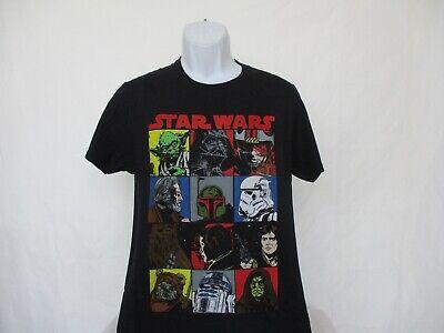 Star Wars Mosaic - Character Pics Black Shirt - Adult Sizes S - 2XL NEW