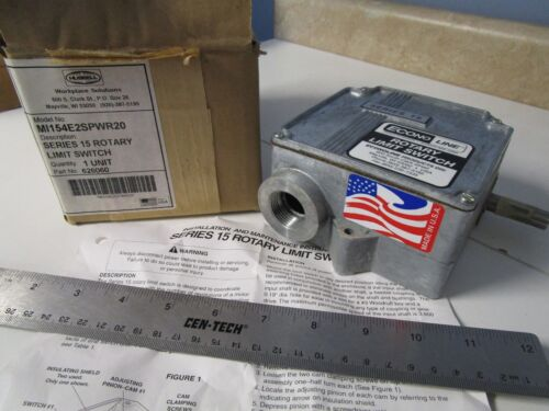 Hubbell Series 15 Rotary Limit Switch, 575VAC