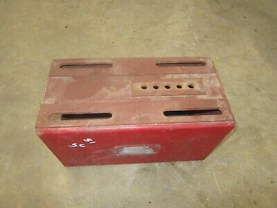 1951 Ih Farmall C Super C Used Seat Base Assembly Nice One Antique Tractor