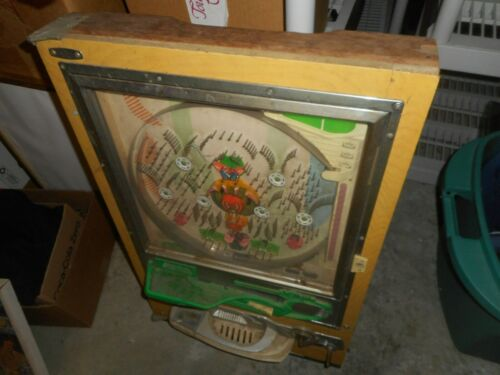 Pachinko Vintage Game 1950s 1960s Japan Japanese Antique Arcade Pinball Old