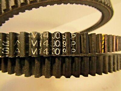 """OEM SPEC COGGED BELT JOHN DEERE M143019 M118684 .559"""" X 63.38"""" GT225 GT235 GT245"""