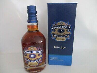 CHIVAS REGAL 18 Jahre, Gold Signature, Blended Scotch Whisky 0,7 L 40 % Vol.