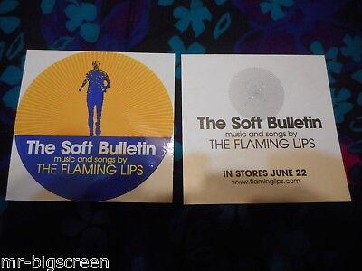 THE FLAMING LIPS - THE SOFT BULLETIN - ORIGINAL PROMO STICKER - 1999