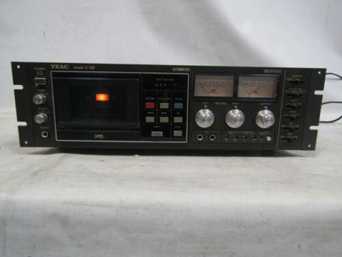 Teac Model C-3X  3Head Cassette Deck Working Needs Belts