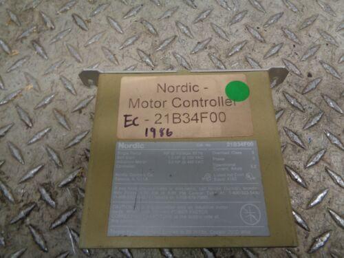 Nordic 21B34F00 Soft Start Induction Motor Controller 1.5hp 60hz