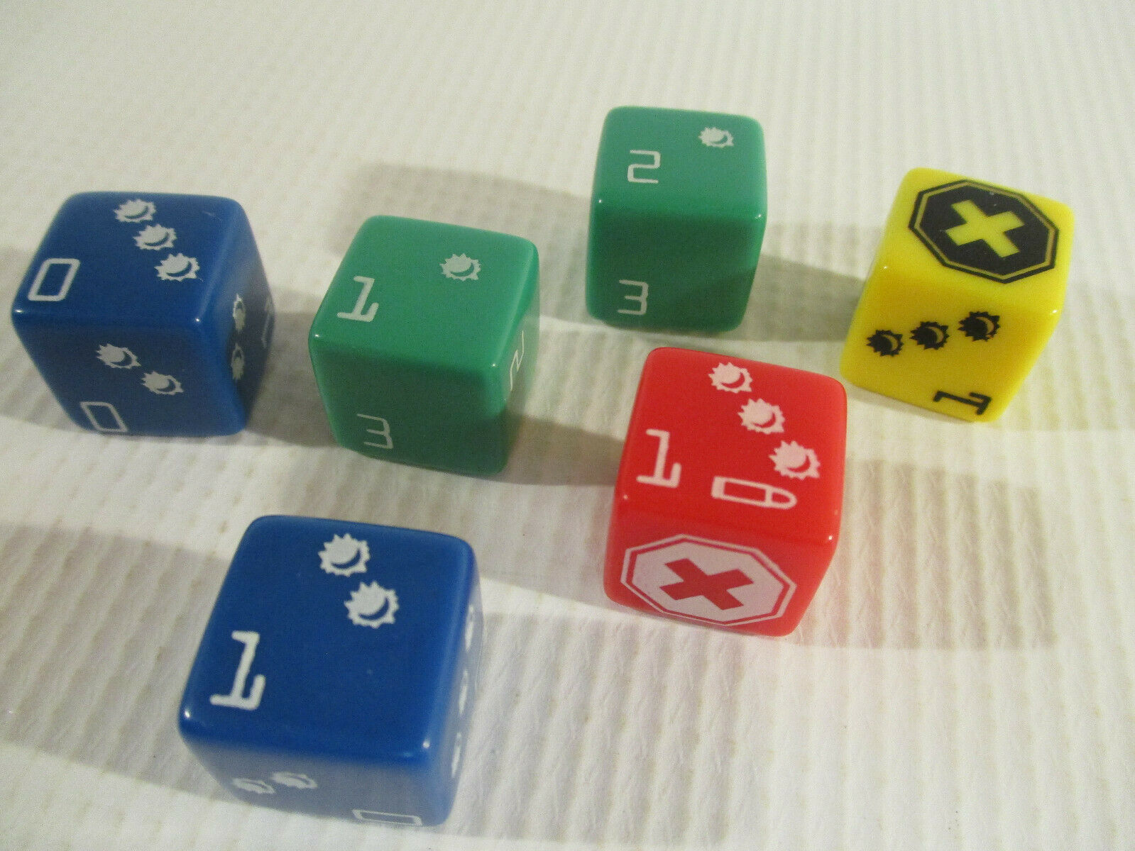 DOOM: The Board Game ORIGINAL DICE SET by Fantasy Flight Gam