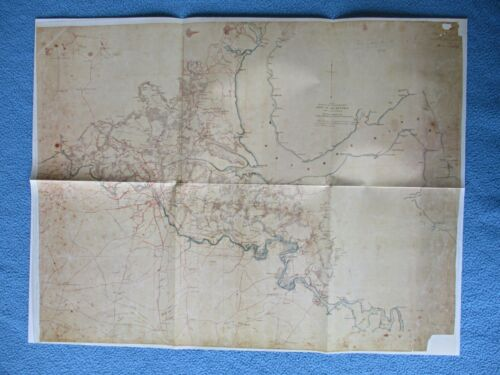 #  Civil War Map - General Hooker