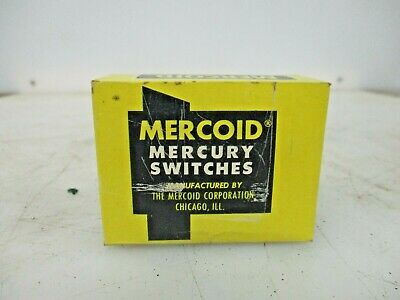 New Mercoid Mercury Switches 101-9-8107bb