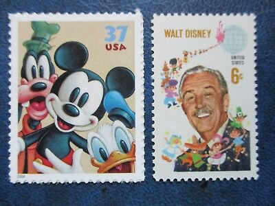 Walt Disney and Friends Stamps