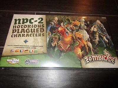NEW Sealed ZOMBICIDE Black Plague NPC-2 Notorious Characters ZBP