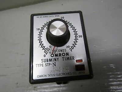 Omron Stp-n Subminy Timer 0-30 Sec.
