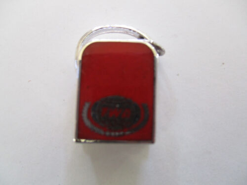 vintage TWA Trans World Airlines Travel Bag Charm Employee only Bracelet Pin