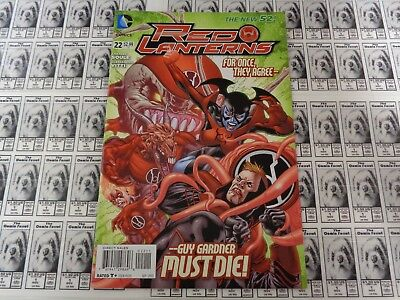 Red Lanterns (2011) DC - #22, Guy Gardner Leads, Soule/Vitti, NM/- (New 52)