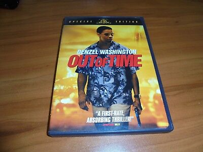 Out Of Time  Dvd  Widescreen 2004  Denzel Washington Used