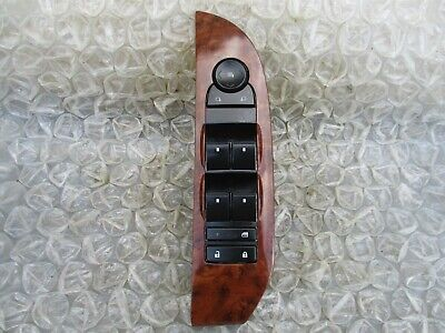 07-09 CHEVY TAHOE FRONT DOOR POWER MASTER DRIVER SIDE WINDOW MIRROR SWITCH - Beverage Center Left Hinge