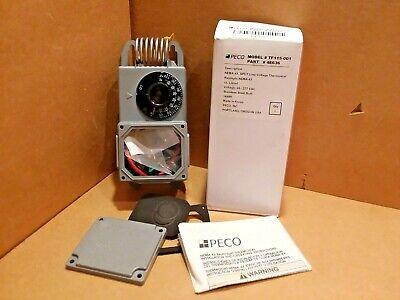 Peco Tf115-001 Line Voltage Thermostat 4e636 24-277 Vac