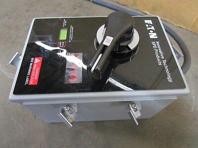 Eaton Ptx160-nn400cd-sd Transient Voltage Surge Protector 380-480v Vpr 1800 V