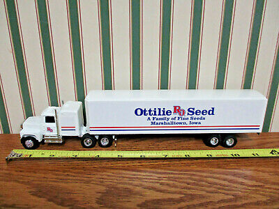 Ottilie Seed Ford Semi With Van Trailer By Ertl 1/64th Scale 1